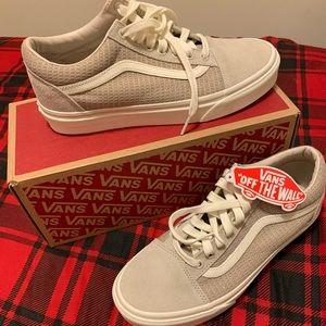 Vans Old Skool Skate Shoe Sneaker Grey Sz 8.5 NWT